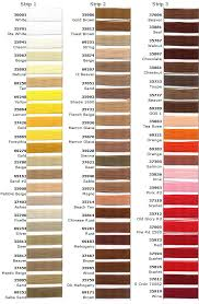 Anefil Polyester Thread Color Chart