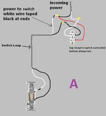 switch loop wiring switch image wiring diagram wiring new ceiling fan to existing light switch electrical diy on switch loop wiring