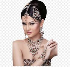 indian wedding clothes bride makeup artist jewellery hair accessory png