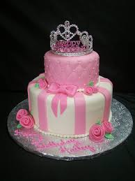 Pink Princess Themed Birthday Cake Ideas For Little Girl Birthday
