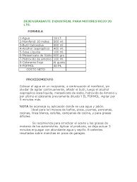 Formula Quimica Del Colorante Rojo 40ll L