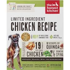Perfect The Honest Kitchen Grain Free Limited Ingredient Chicken Recipe Dehydrated Dog  Food 10lbs