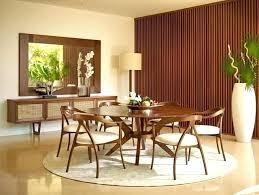 mid century round dining table mid century dining room chairs mid century modern dining room dining