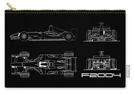 Find out what makes the laferrari specs so amazing. The F2004 Gp Blueprint Carry All Pouch For Sale By Mark Rogan