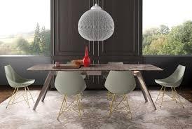 Esstisch Mit Tischplatte Aus Marmor Holz Oder Glas Idfdesign