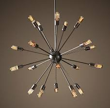 modern sputnik light fixture