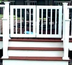 porch gates for dogs patio deck gate t outdoor
