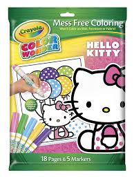 Small Picture Amazoncom Crayola Color Wonder Hello Kitty 18 Page Coloring Pad