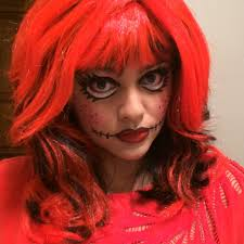rag doll makeup for