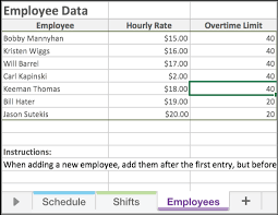 free xcel free excel employee scheduling template when i work