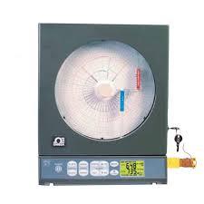 Newport Ctxl Dtc 2 Channel Thermocouple Circular Chart Recorder