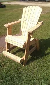 Tall Adirondack Chair Plans Free WoodWorking Projects Plans