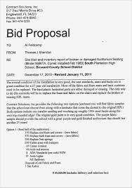 Sample Bids Kimo 9terrains Co Bid Proposal Template Free Boltonnews