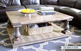 Superb Gorgeous Balustrade Coffee Table Diy Restoration Hardware Coffee Table Design