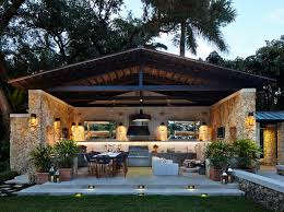 Indoor Outdoor Kitchen K Bb Collective Outdoor Residential Kitchens Crave Professional