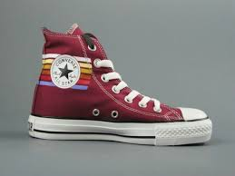 converse outlet. converse color of the rainbow lines high top wine red canvas shoes - discount outlet,converse kids,converse boots,classic styles outlet
