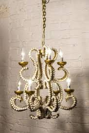 small vintage chandelier vagabond vintage iron chandelier with whitewashed wood beads small small vintage crystal chandelier