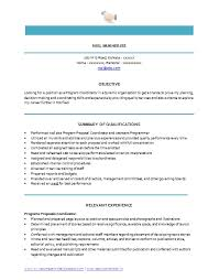 Best Resumes Templates Unique Best Resume Program Inspiration Professional Curriculum Vitae Resume