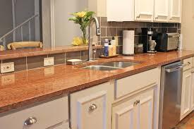 Prefab Granite Kitchen Countertops Kitchen Design With Terra Cotta Red Granite Countertops White