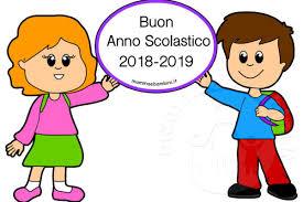 Risultati immagini per BUON ANNO SCOLASTICO 2018/2019