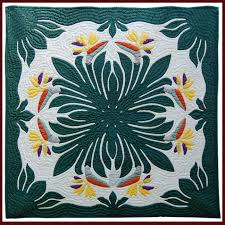 bird of paradise classic quilted wall