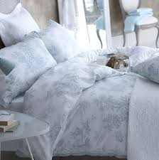 french toile duvet cover