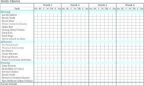 Chores Timetable Kozen Jasonkellyphoto Co