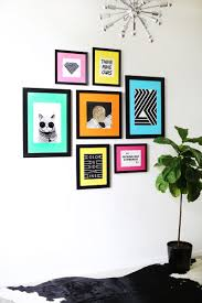 ture frame design walls ways decorate wall frames ideas your beautiful mess decoration fun colored mat