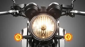 cb ex modern classic street motorcycles honda uk honda cb1100 ex street studio headlight detail
