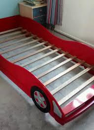 red car bed frame slats
