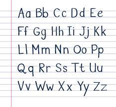 Number Names Worksheets Lower Case Alphabet Chart Alphabet