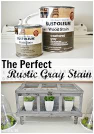 furniture wood colors. the perfect rustic gray stain mixture lizmarieblog furniture wood colors g