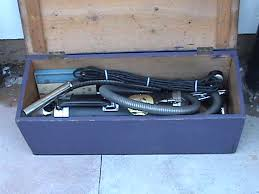 electrolux vacuum vintage. vintage 1927 model xi electrolux suction vacuum cleaner in pine chest box (complete kit)