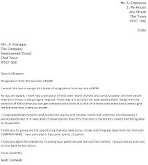Resignation Of Employment Due To Illness Resignation Letter Example Icover Org Uk
