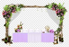 purple and white dining table