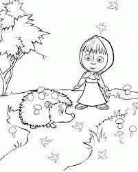 I Disegni Di Masha E Orso Da Colorare Per Bambini Sono Davvero