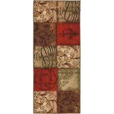 tuscan kitchen rug