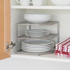 Kitchen Shelf Organizer Amazoncom Seville Classics 2 Tier Corner Shelf Counter And