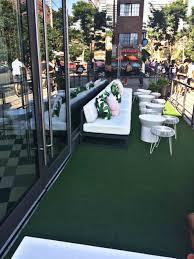 balcony grass carpet