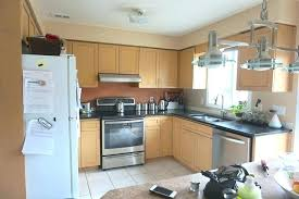 revere pewter kitchen cabinets and before photo white walls revere pewter cabinets