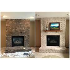 top fireplace brick paint home design planning classy simple to fireplace brick paint home interior