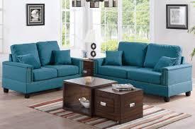 fabric sofas blue. Contemporary Blue Arri Blue Fabric Sofa And Loveseat Set For Sofas