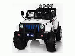 <b>Детский электромобиль</b> Джип Harleybella (белый) — купить с ...