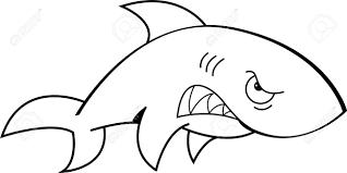Shark Outline Free Download Best Shark Outline On