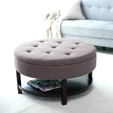 fabric ottoman coffee table round upholstered coffee table oversize leather ottoman coffee round storage ottoman footstool