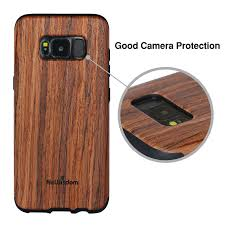 galaxy s8 wood case sandalwood