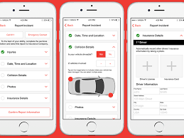 Automotive Incident Reporting Flow By Dave Poore On Dribbble