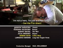You're gonna give me a problem? In Pulp Fiction 1994 The Coffee Shop Manager Didn T Get The Chance To State His Full Position Title Credits Reflect Little Movie Moments