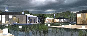 Foldable Houses Floating Foldable Temporary Houses For Flood Victims On