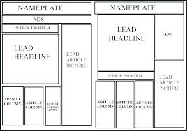 Newspaper Article Template Free Download By Tablet Desktop Original Size Back To Printable Newspaper
